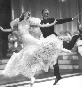 fred astaire dancing with ginger rogers