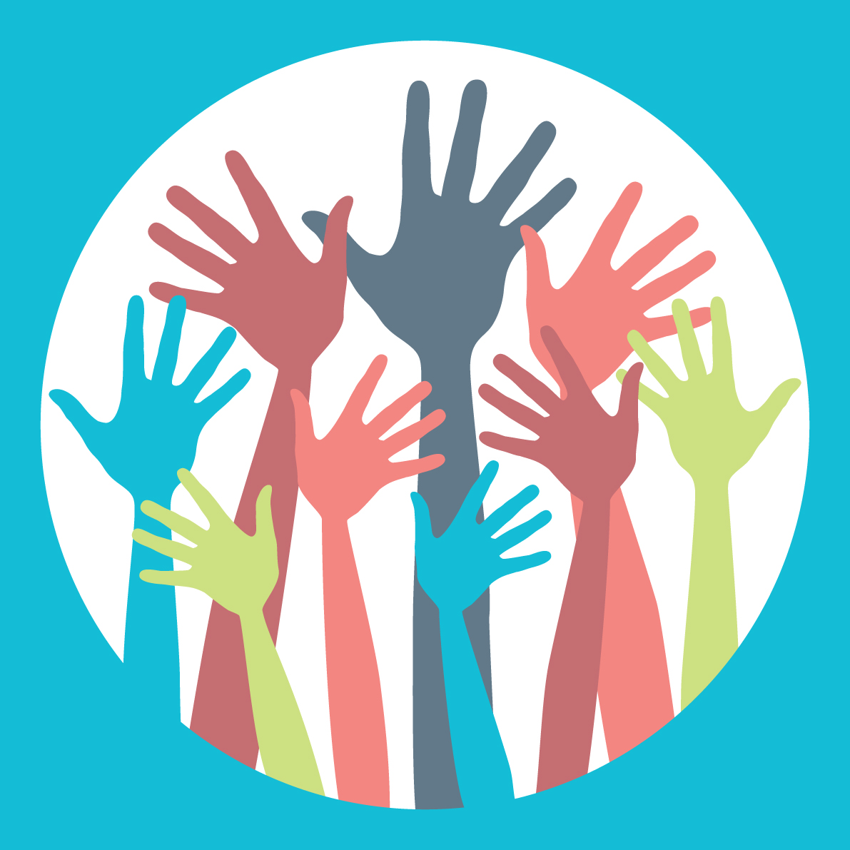 Image result for raising hand to volunteer graphic png