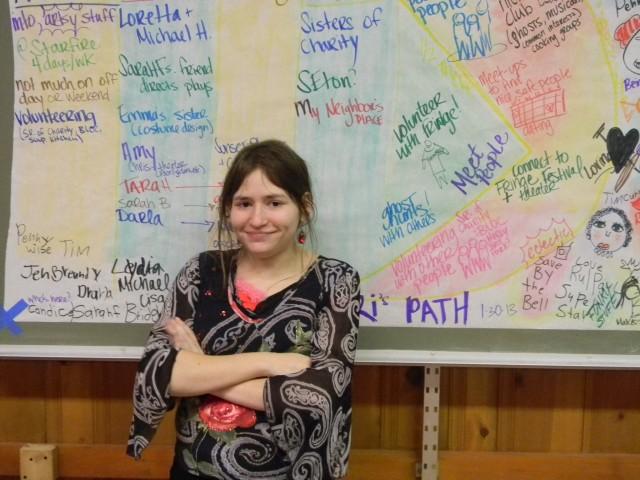 Ari & her PATH, January 2013