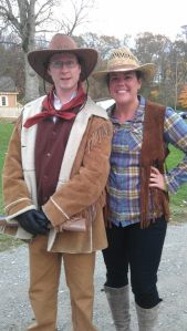 Buffalo Bill Cody and Anne Oakley