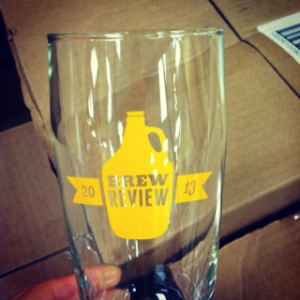 commemorative glass given to each person who purchased a ticket