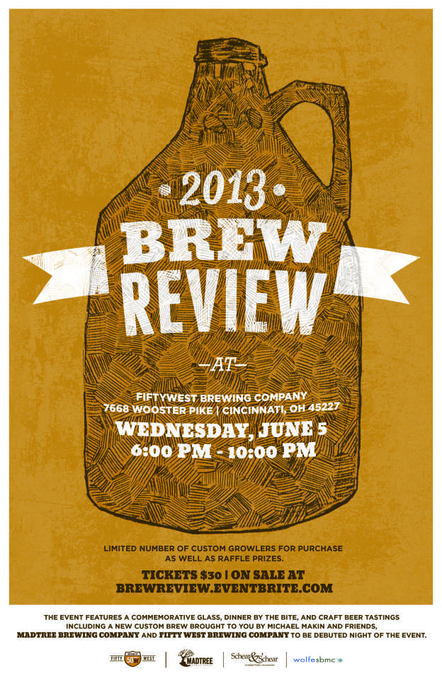 official brew review poster