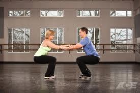 parnter squat