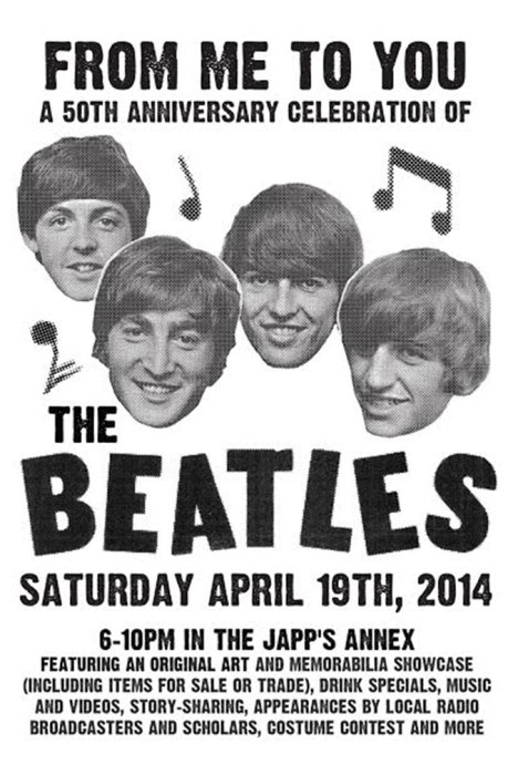 From Me To You Beatles Celebration  April 19th, 2014