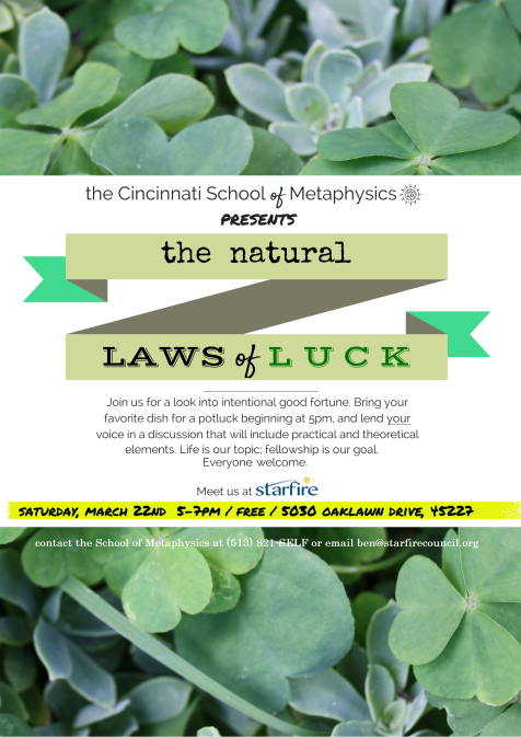 Natural Laws of Luck